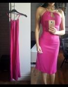 sukienka rozowa...