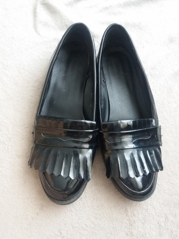Balerinki Czarne buciki 37