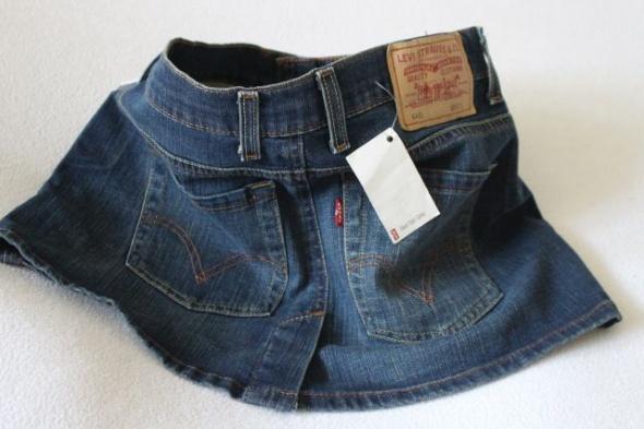 Mini spódniczka jeansowa Levis xs...
