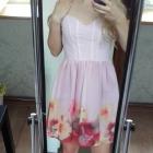 śliczna różowa sukienka na wesele