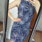 dopasowana sukienka na co dzień