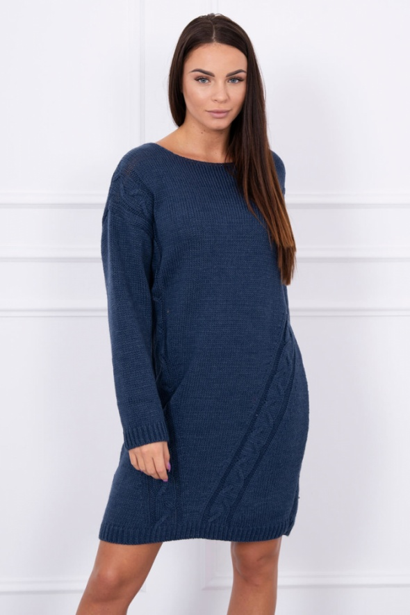 Długi sweter sukienka...