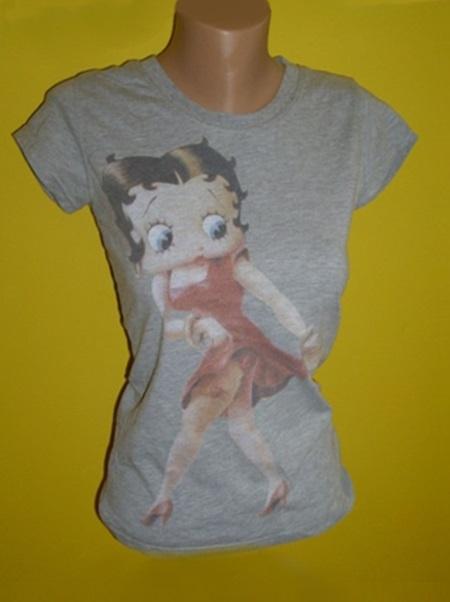 bluzka t shirt koszulka szara siwa