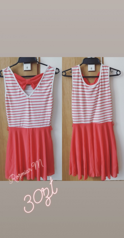 Suknie i sukienki Sukienka z kokardą