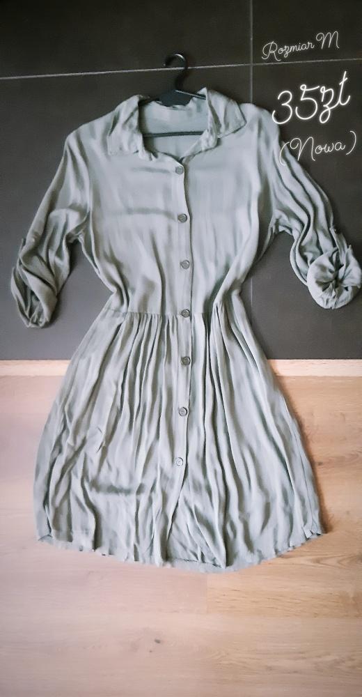Sukienka khaki