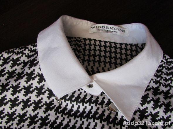 Oldschoolowa koszula w pepitkę