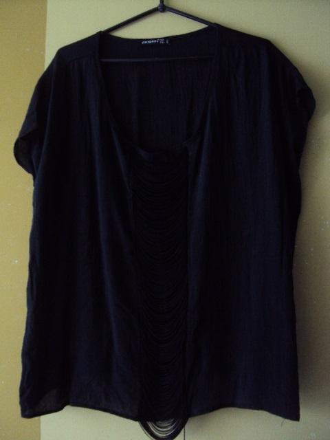 bluzka z frędzlami
