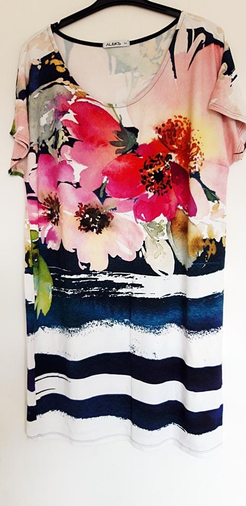 sukienka kolorowa 54