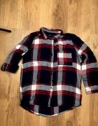 Flanelowa mięciutka koszula w kratę...