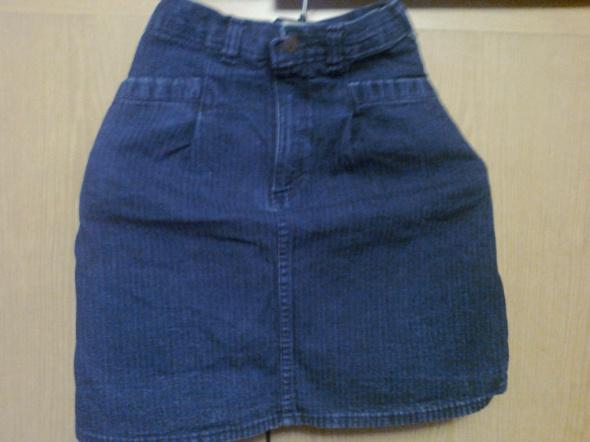 krótka spódnica jeans