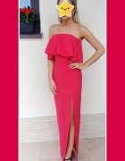 Długa piękna suknia...