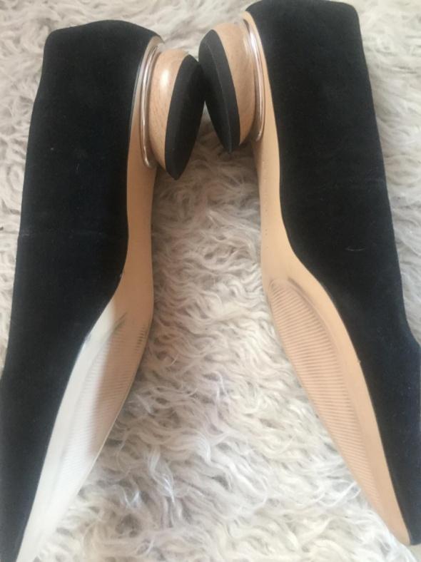 Klasyczne baleriny Zara jak nowe rozmiar 37 czarne...