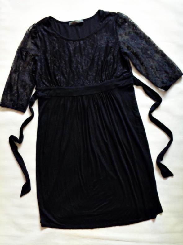BLOOMNG elegancka sukienka ciażowa z koronką 46