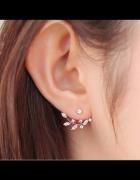 Kolczyki złote za ucho SKRZYDEŁKA sztyfty