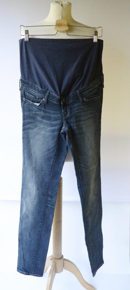 Spodnie Ciążowe Dzinsy H&M Mama Slim L 40 Jeans Ciąża