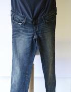 Spodnie Ciążowe Dzinsy H&M Mama Slim L 40 Jeans Ciąża...
