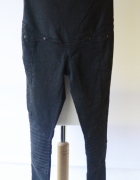 Spodnie Przeszycia H&M Mama Czarne Rurki XS 34 Tregginsy...