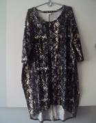 asymetryczna sukienka tunika...
