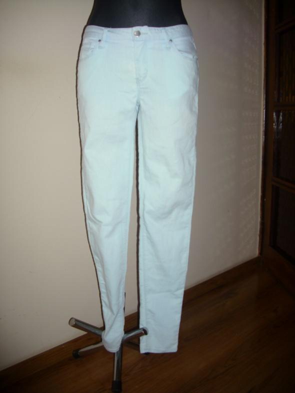 Rurki jasne jeansowe S SUPER SKINNY