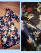 mini sukienka tunika XS