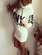 sukienka tunika bluza DKNY XS S...