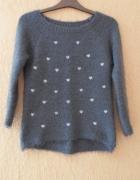 Sweter serduszka xs...