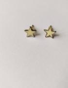 Kolczyki wkrętki gwiazdki...