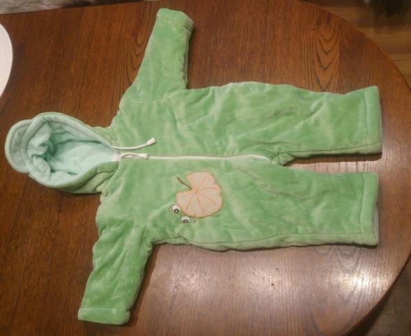Zielony kombinezon żabka