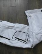 Białe nowe spodnie narciarskie 48...