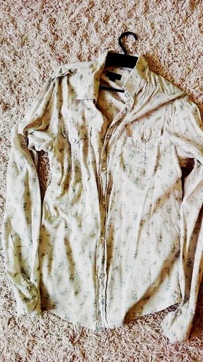 koszula floral S M kwiatuszki 36 38