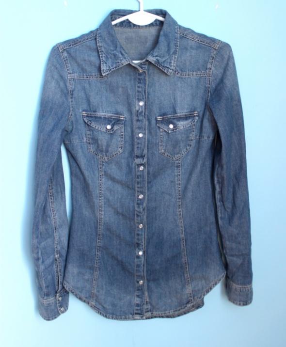 Koszula jeansowa rozmiar S
