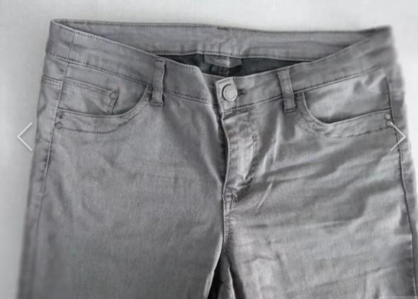 Spodnie Szare Jeansy