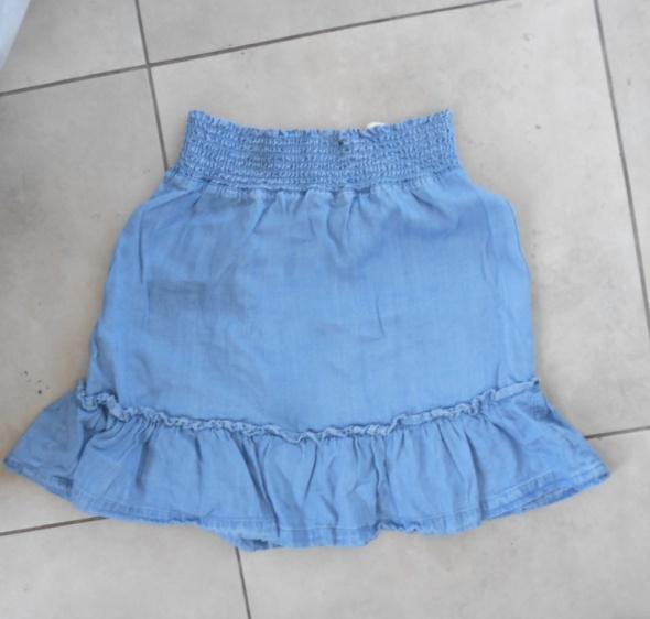 HM nowa spódniczka mini falbanki lyocell...
