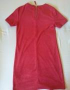 Czerwona sukienka ZARA S...