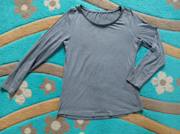 Melanżowa bluzka basic 42...