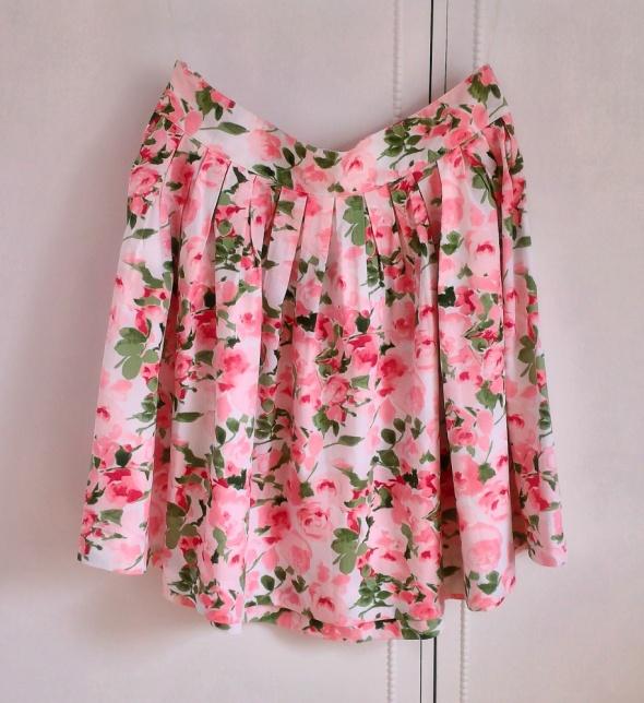 Nowa spódnica Evie L XL 42 kwiatowy wzór kwiatki