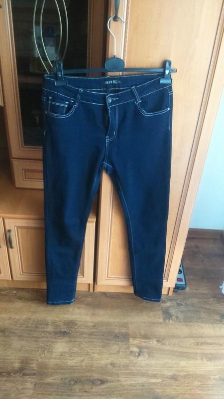 Jeansowe rurki wysoki stan