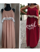 Sukienka maxi w stylu Boho...