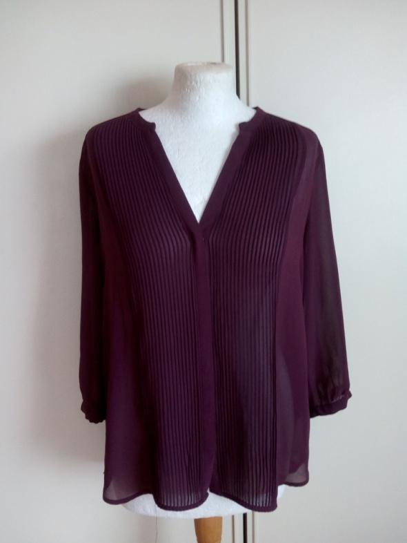Swietna bordowa rozpinana bluzeczka H&M