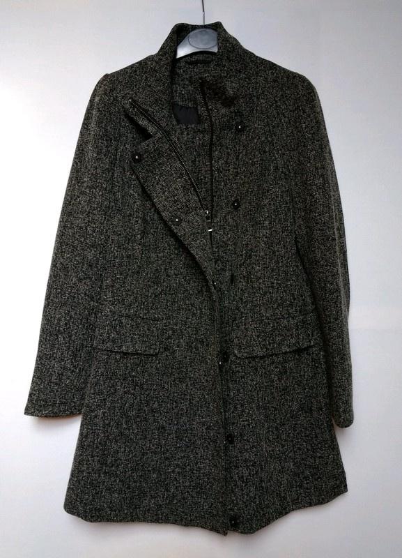 Szary płaszcz Next