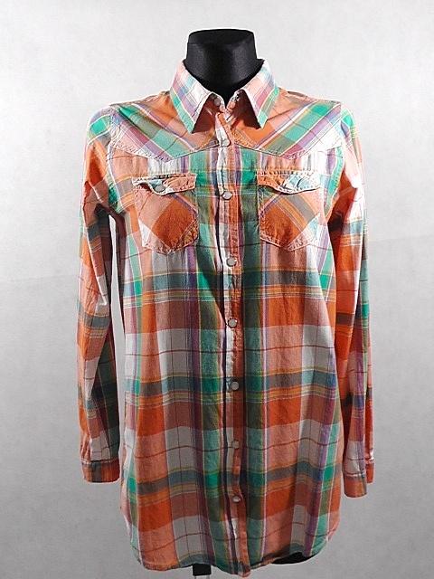 Koszule Gina Tricot koszula damska w kratę rozm M