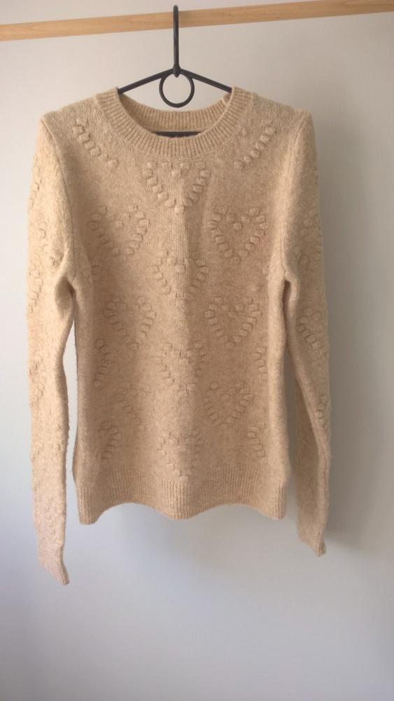 Beżowy sweterek XS S
