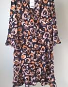 Nowa sukienka w kwiaty NEXT 40 42 floral...