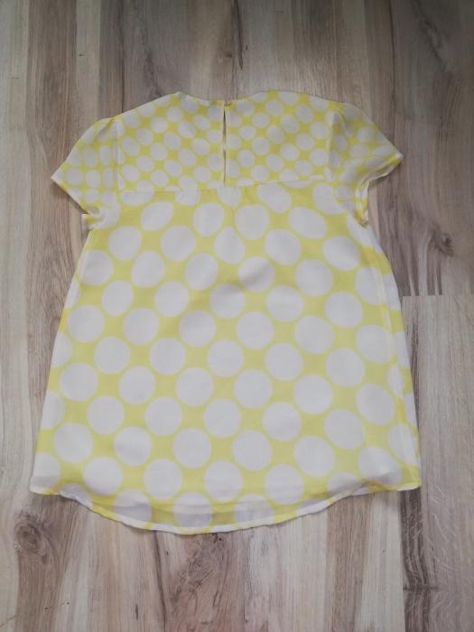 Bluzeczkabluzka dziecięca grochy Rozm 140 146 10 11 lat