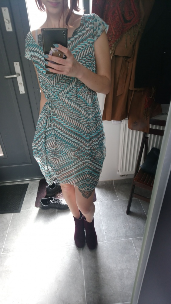 Aztecka sukienka na lato