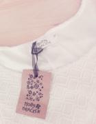NOWA nieuzywana sukienka kremowa z paskiem plisowana S...