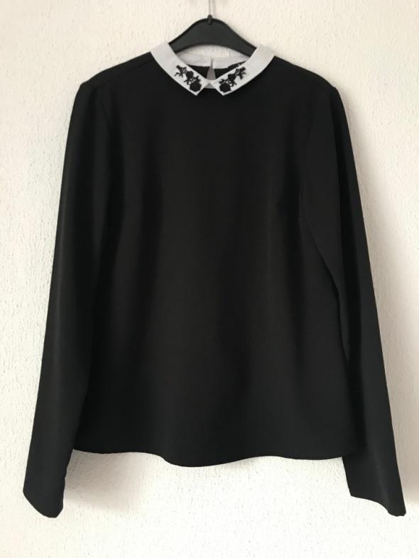 elegancka bluzka Mohito czarns XS 32 34