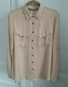 bluzka koszula z długim rękawem ZARA rozm L