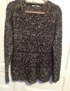 sweter z kieszonkami XL