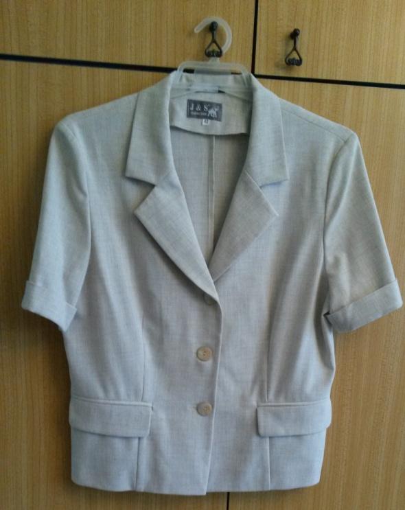Bluzka marynarka z krótkim rękawem 42 XL